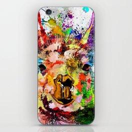 Llama Grunge iPhone Skin