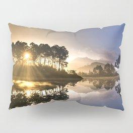 Sunset Reflections on Lake Pillow Sham