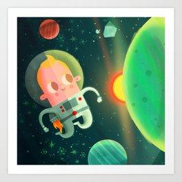 Dreamers - Astronaut Art Print