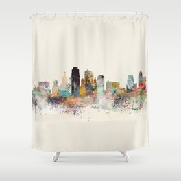 kansas city missouri Shower Curtain