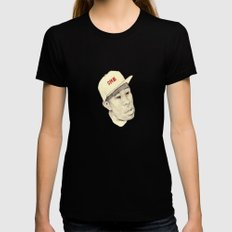 Tyler Black Womens Fitted Tee SMALL
