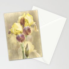 Iris Cream Stationery Cards