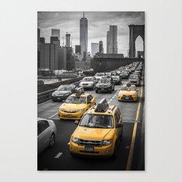 New York City Traffic Canvas Print