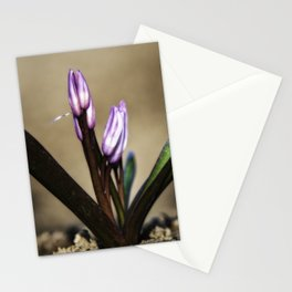 A Purple from the ground Stationery Cards