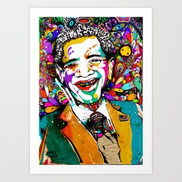 "Obama ""Change is always good"" Art Print"