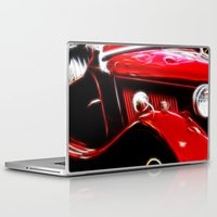 ford Laptop & iPad Skins featuring Ford V8 by Shalisa Photography