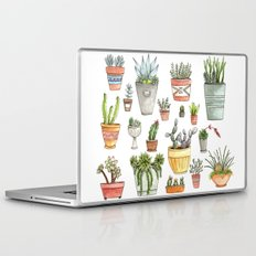 Potted Succulents Laptop & iPad Skin