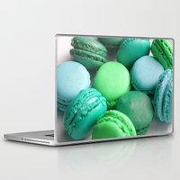 macaroons Laptop & iPad Skins featuring Macaroons by Sara Chergui