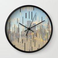 dallas Wall Clocks featuring Dallas by Calepotts