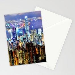 Hong Kong City Skyline Stationery Cards