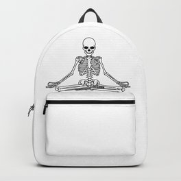 Meditation Skeleton Backpack