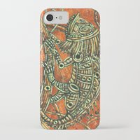 chameleon iPhone & iPod Cases featuring Chameleon by Sherdeb Akadan