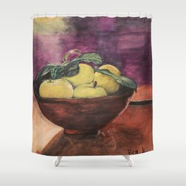 Bar Fruit Shower Curtain
