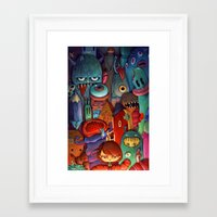 army Framed Art Prints featuring The Army of Me by Marija Tiurina