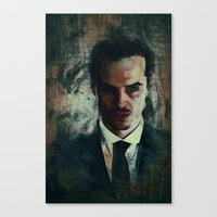 moriarty Canvas Prints featuring Moriarty by Sirenphotos