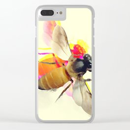 Abeille Clear iPhone Case