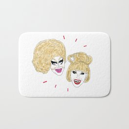 UNHhhh - Trixie and Katya Bath Mat