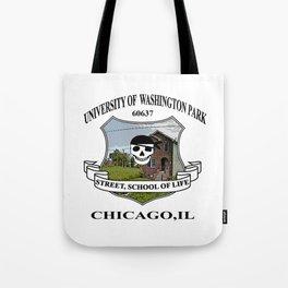 Washington Park Chicago University Tote Bag