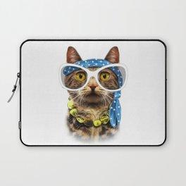 Cat illustration. Laptop Sleeve