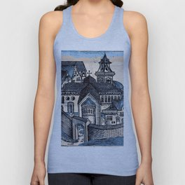 Monastery - Nuremberg Chronicle Unisex Tank Top