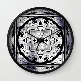 SPACE CUBE Wall Clock