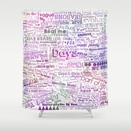 Under the same sky... (Color) Shower Curtain