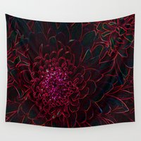 rave Wall Tapestries featuring rave radiance by Inwardillus