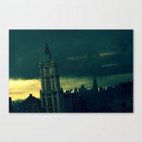 gotham Canvas Prints featuring Gotham by Mili Wolfe