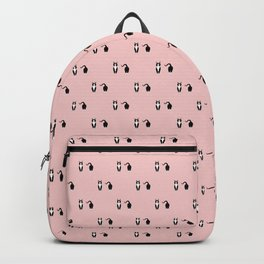 Black and white cat Backpack