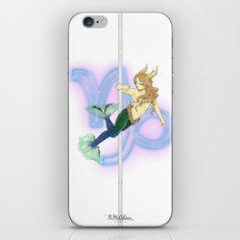 Capricorn Zodiac Pole Dancer iPhone Skin