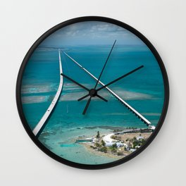 Road To Paradise Wall Clock