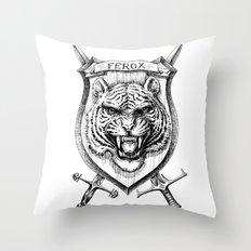 Danger zone Throw Pillow
