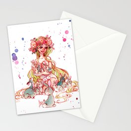 Spring Goddess Stationery Cards