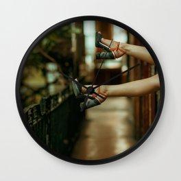 Sexy feets Wall Clock