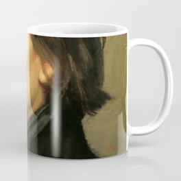 Franz Liszt (1811-1886) at 29. Painting by Charles Laurent Marechal (1801-1887). Coffee Mug