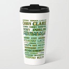 32 Counties Of Ireland Travel Mug