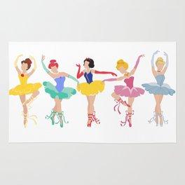 Brat Pack of Ballerina Princesses Rug
