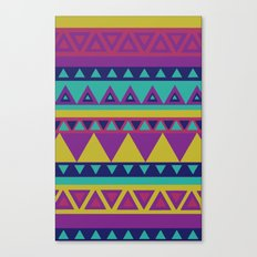 Aztec 1# Canvas Print