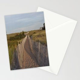 Walkway to the South Jetty Stationery Cards