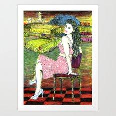 1950's Art Print
