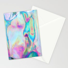 Iridescence - Rainbow Abstract Stationery Cards