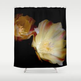 Sun Blooming Cactus Shower Curtain
