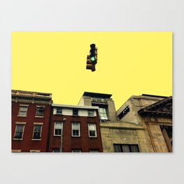 Metro Traffic Light 1 Canvas Print