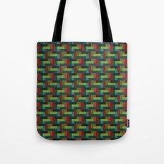 Woven Pixels IV Tote Bag