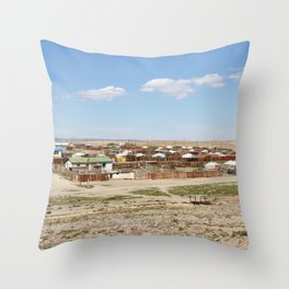 GOBI ALTAI Throw Pillow