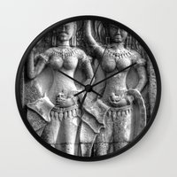 erotic Wall Clocks featuring Cambodian Erotic Goddesses by 1976