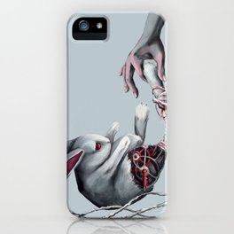 Rabbit  foot iPhone Case