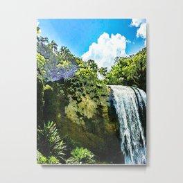 "series waterfall ""Cachoeira Grande"" Lagoinha Metal Print"