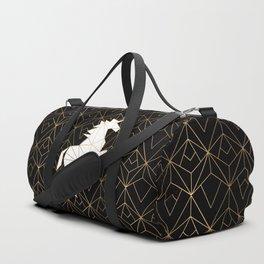 Geometric Unicorn Duffle Bag