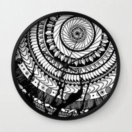 Mandala named Joe Wall Clock